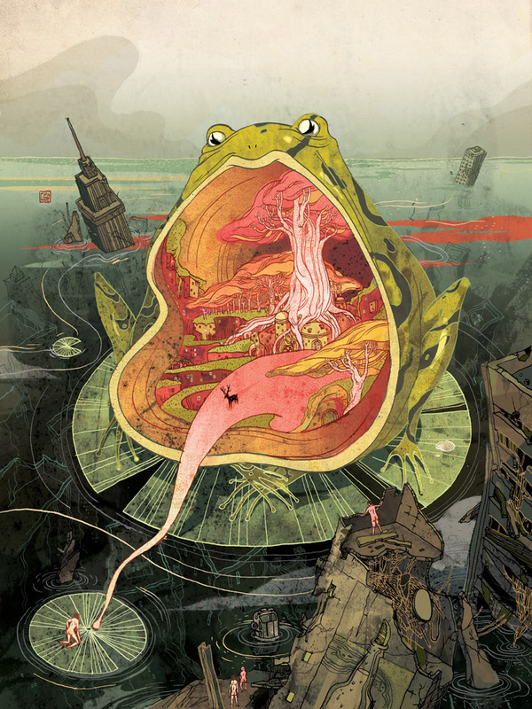 Victo Ngai Illustration