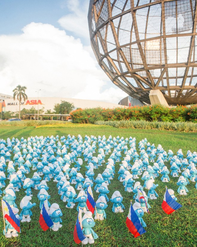 Global Smurfs Day in the Philippines