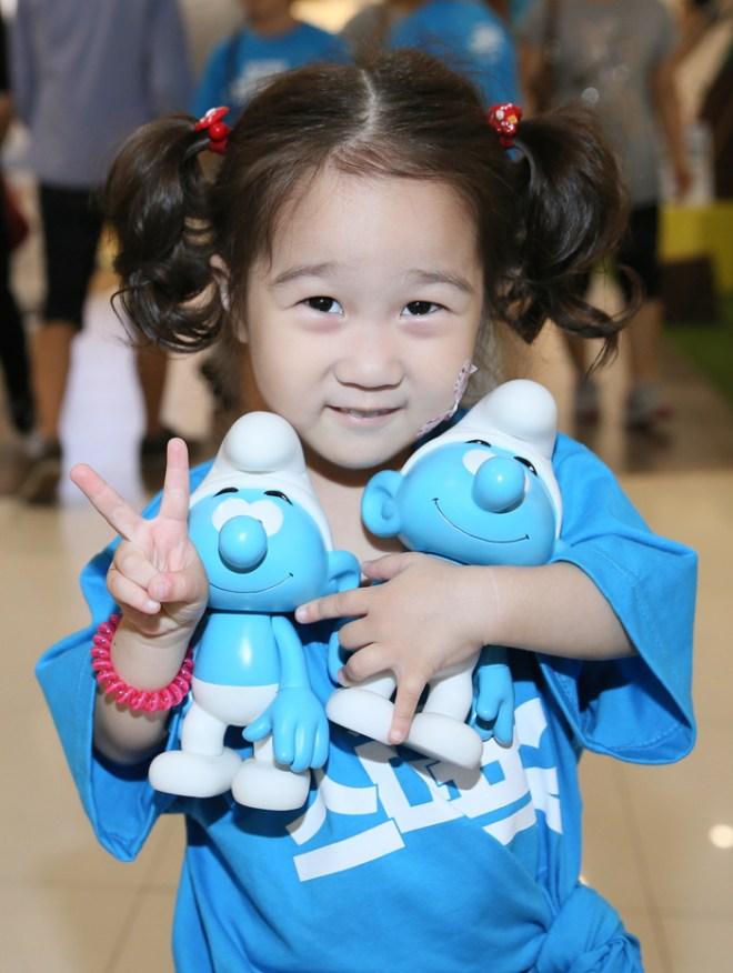 Global Smurfs Day in South Korea