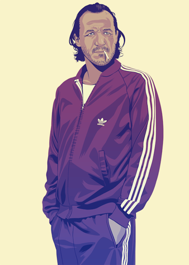 Bronn | Illustration by Mike Wrobel