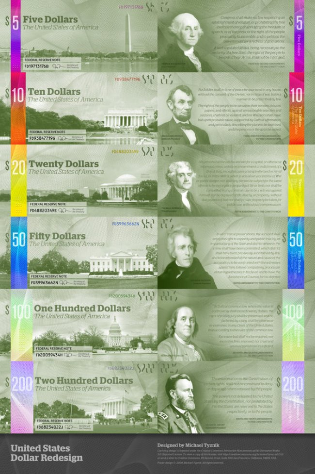 The Dollar Redesigned 9 Awesome Us Dollar Redesign