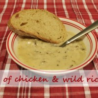 Copycat Recipe: Cream of Chicken & Wild Rice Soup Panera