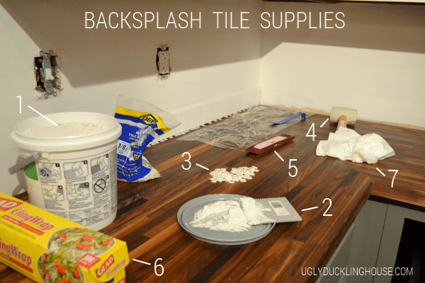 backsplash tile supplies