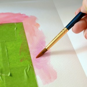 How to Turn Favorite Quotes Into Art with a Watercolor Border