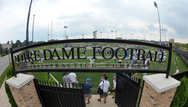 Notre Dame Spring Football 2012