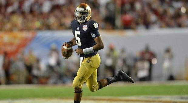 Notre Dame Football - Everett Golson
