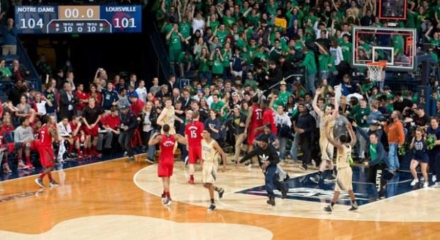 Notre Dame - Louisville - 5 OT
