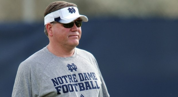 Brian Kelly - April 6 Practice Update