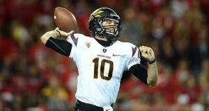 Taylor Kelly, Arizona State - Notre Dame 2013 Schedule