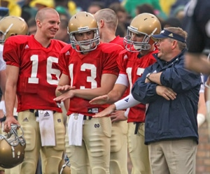 Notre Dame - 2010 Quarterbacks