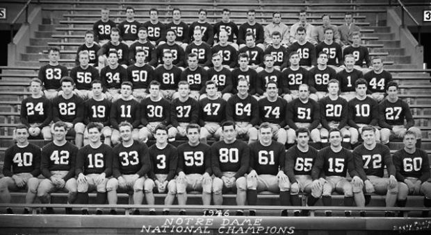 Notre Dame's 1946 National Championship