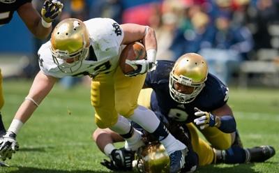 Cam McDaniel - Notre Dame RB