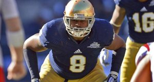 Kendall Moore - Notre Dame ILB