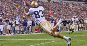 Jeff Samardzija and Notre Dame made a statement against PItt in 2005 but since then every Pitt-ND game has been a battle.  Photo: Andy Altenburger // Icon Sportswire