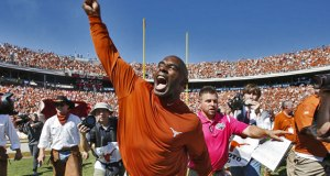 Charlie Strong enters a pivotal year in 2016 after two subpar campaigns to start his Texas tenure.  (Photo: Tim Heitman // USA TODAY Sports)