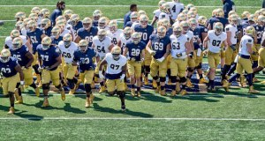 2016 Notre Dame Football Depth Chart