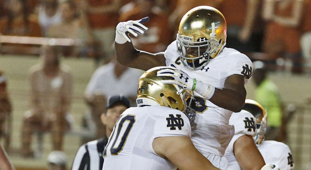 Coach Brian Kelly on Notre Dame's loss to Texas