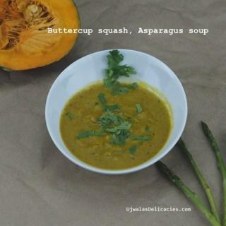 Buttercup squash, Asparagus Soup