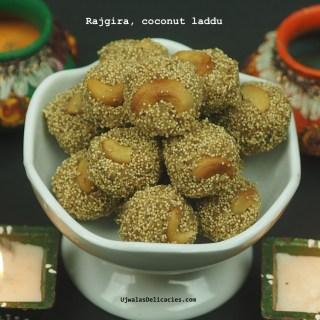 Rajgira Coconut Laddu