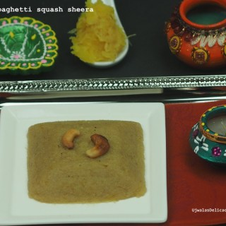 Spaghetti Squash Rava Kesari