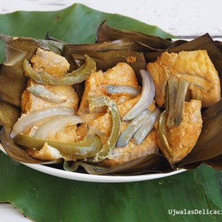 Baked Fish In Banana Leaves