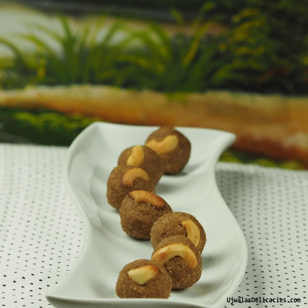 Chestnut (Singoda) flour Laddu