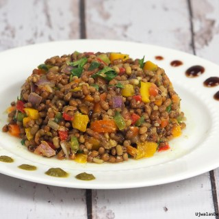 Dal Mott Chaat Salad