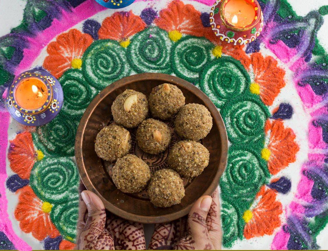 Gond (acacia), pistachio laddu