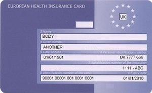 EHIC Card