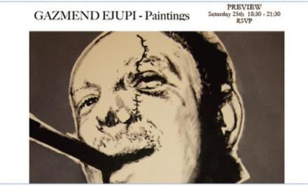 Gazmend Ejupi: paintings exhibition, 25 April 2009