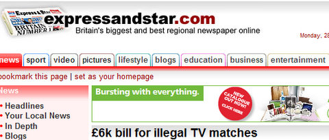 £6,000 bill for illegal TV football matches