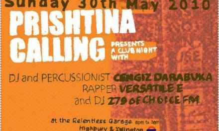 Prishtina Calling event in London, 30 May 2010