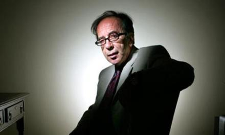 Kadare in London, promoting his new novel – 05 October 2010