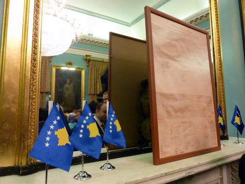 Koktej per tre vjetorin e Pavaresise se Kosoves, organizuar nga Ambasada e Kosoves ne Londer, 17.02.2011