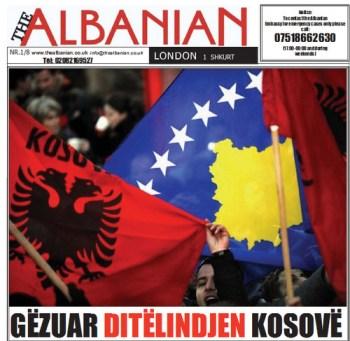 The Albanian gazeta ne Britani, numri 1/8 shkurt 2011