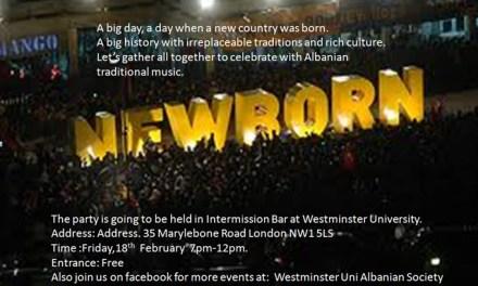 Kosova Independence Party by Westminster University Albanian Society