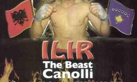 <!--:sq-->Meç në mes të Ilir Canollit dhe Mark Lewis në Londër, 5 mars 2011<!--:-->