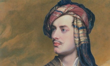 <!--:en-->Lord Byron in Albanian dress at art show curated by Simon Schama<!--:-->