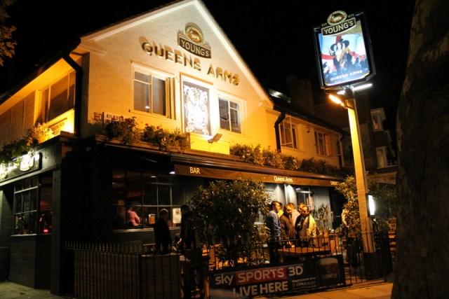 Queens Arms Pub, Kilburn
