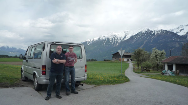 Matthew Edwards from Warrington, Alex Allen from Timperley and Ivan Rogan from Congleton set off on April 11 and spend nine days driving to Tirana, Albania's capital city