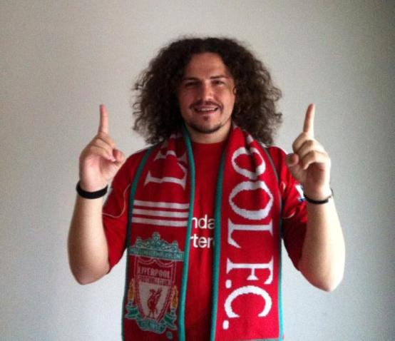Ukë Krasniqi's hair-cut, who is an ardent Liverpool fan, has to wait for a while
