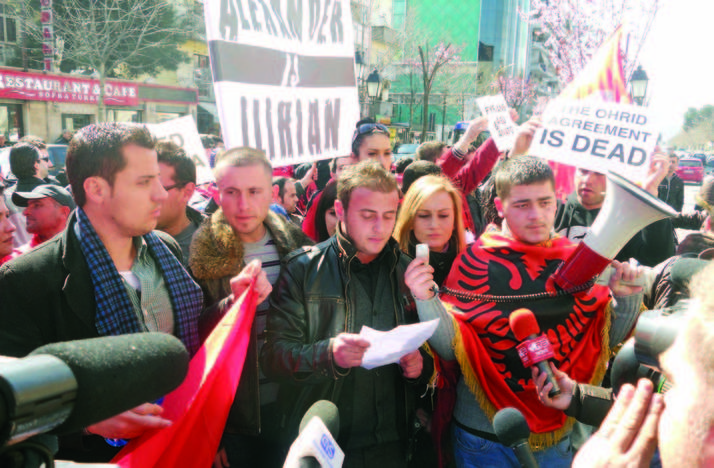 Tomorrow in London, rally of support for Albanians in FYROM