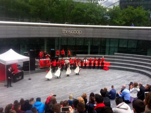 Shpresa Programme, The Scoop event, London