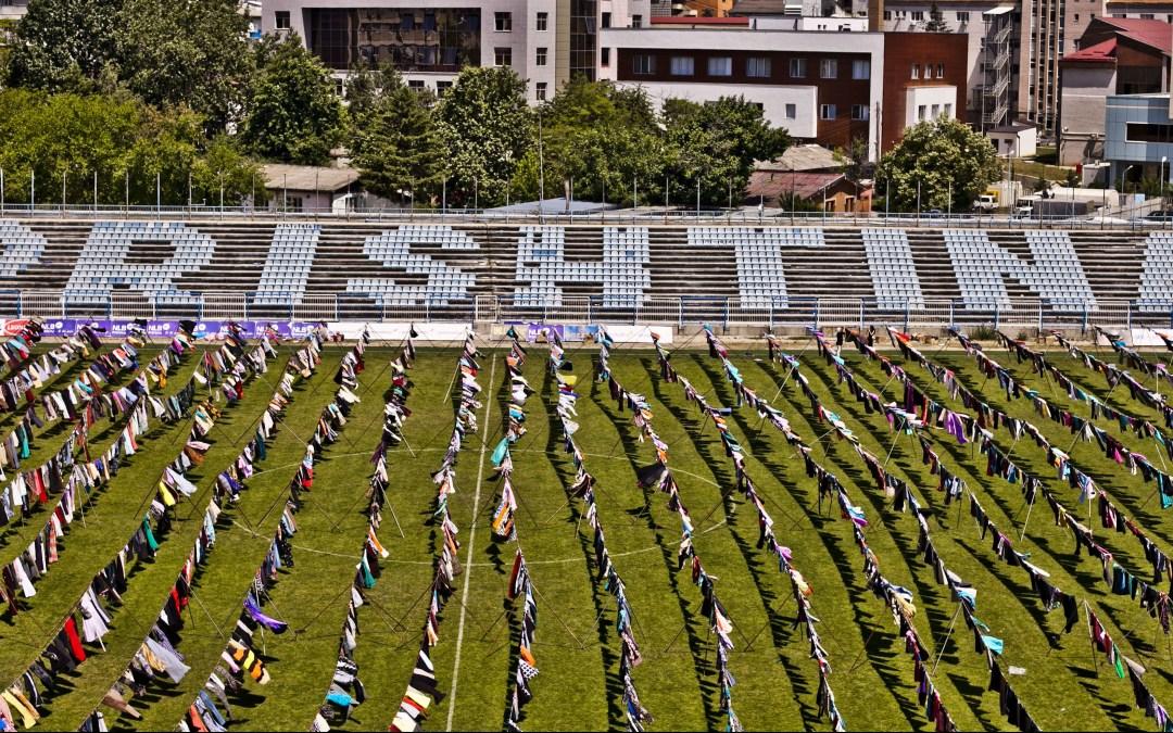 Kosovo art installation about war rape Albanian victims becomes viral
