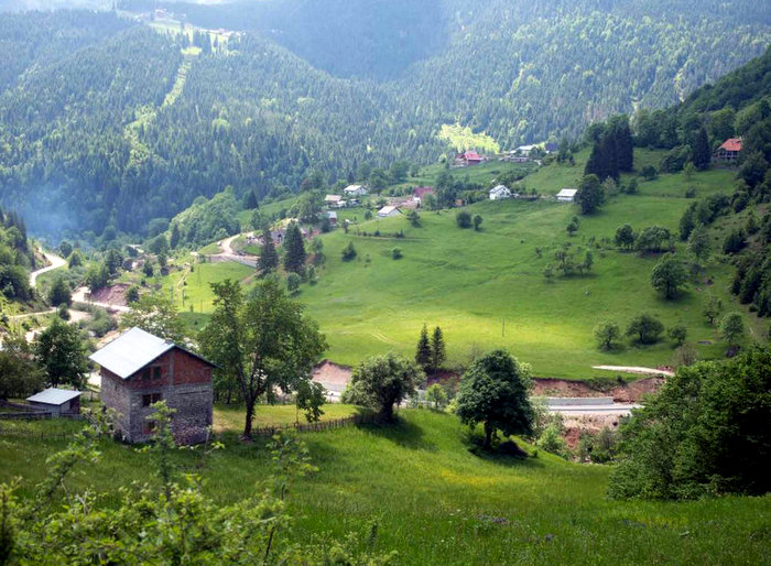 The verdant valleys of Kosovo