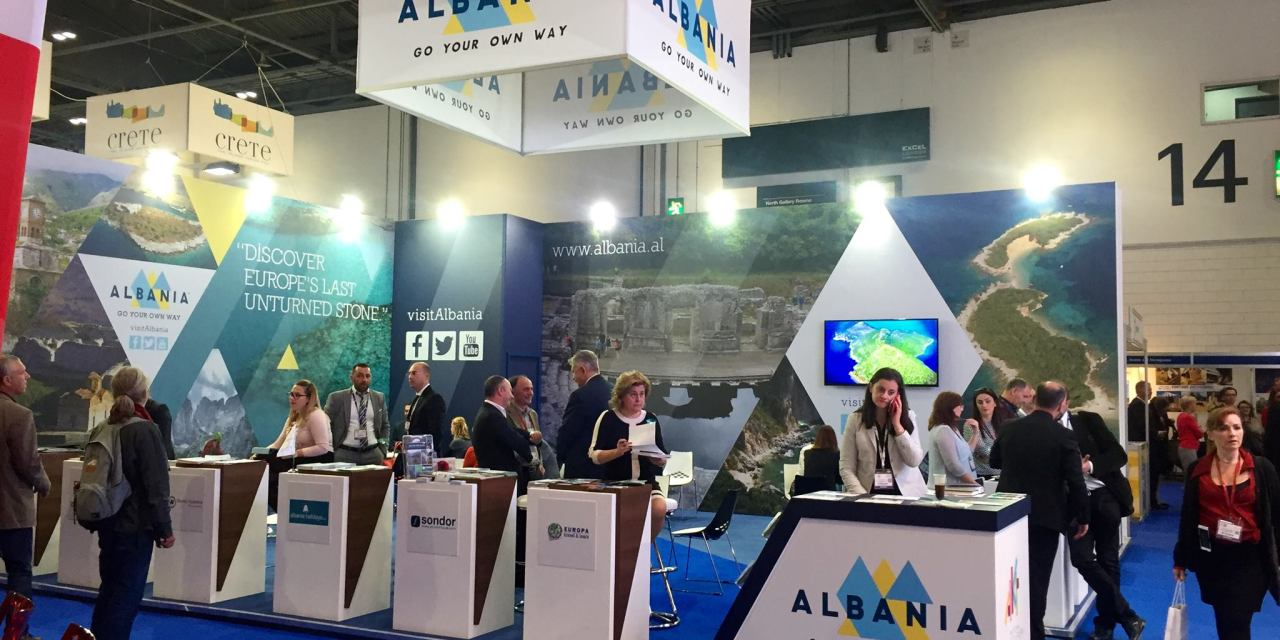 Albania and Kosovo are exhibiting at the World Travel Market in London