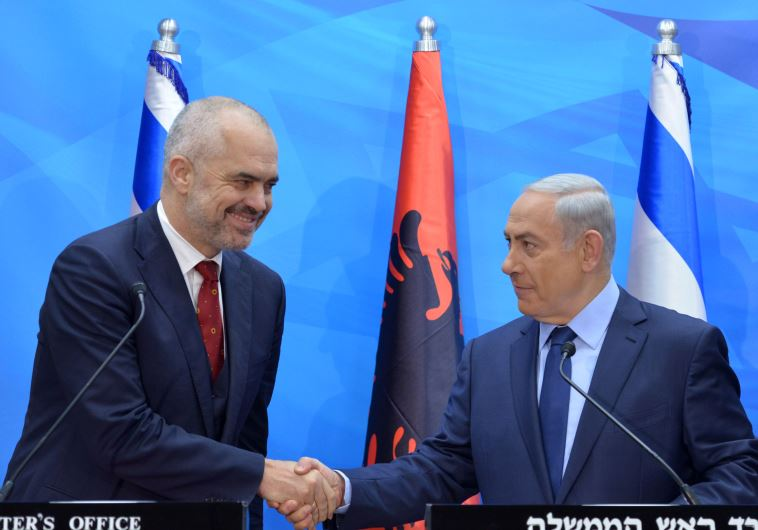 The leaders signed on a friendship agreement and a mutual cooperation agreement between Israel and Albania.