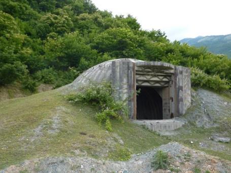 An Albanian bunker from Communist era