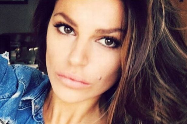 Missé, half Swedish and half Albanian, the stunning wife of former Manchester United goalie