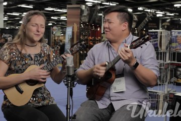 Craig Chee and Sarah Maisel Ukulele Session NAMM 2016
